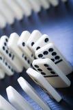 Juego del dominó Foto de archivo