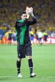 Juego 2012 del EURO de la UEFA Suecia contra Francia Fotos de archivo libres de regalías