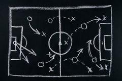 Juego del fútbol Imagen de archivo libre de regalías