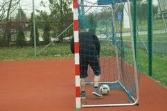 Juego del fútbol Fotos de archivo