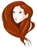 Juego del pelo stock de ilustración