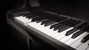 Juego del piano Foto de archivo libre de regalías