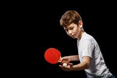 Juego del ping-pong Imagenes de archivo
