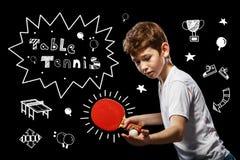 Juego del ping-pong Imagen de archivo libre de regalías