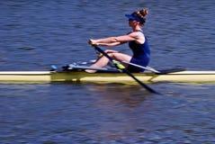 Juego del rowing Foto de archivo libre de regalías
