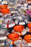 Juego del tazón de fuente de los pescados del carnaval Foto de archivo libre de regalías
