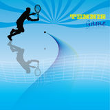 Juego del tenis Imagen de archivo
