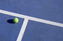 Juego del tenis Fotos de archivo libres de regalías