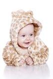 Juego del tigre del bebé que desgasta Fotos de archivo libres de regalías