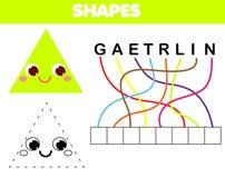 Juego educativo de los niños del rompecabezas de las palabras Ponga las letras en orden correcto Aprendizaje de vocabulario y de  libre illustration