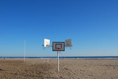 Juego en la playa fotos de archivo libres de regalías