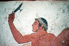 Juego griego Fotos de archivo