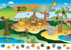 Juego para los niños stock de ilustración