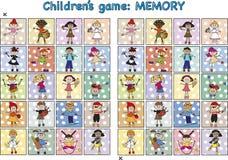 Juego para los niños Imágenes de archivo libres de regalías