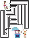 Juego para los niños Imagen de archivo libre de regalías