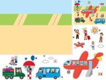 Juego para los niños ilustración del vector