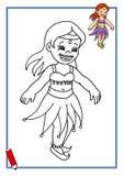 Juego, pequeño bailarín 3 Foto de archivo