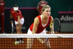Juego Ucrania del tenis de FedCup contra Canadá Fotografía de archivo libre de regalías