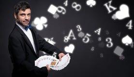 Juego y magia fotografía de archivo libre de regalías