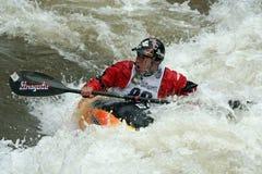 Juegos 2011 de Teva Mt. - estilo libre Kayaking Fotografía de archivo libre de regalías
