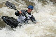 Juegos 2011 de Teva Mt. - estilo libre Kayaking Imágenes de archivo libres de regalías