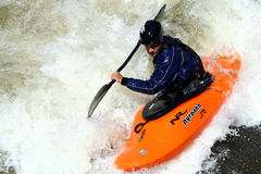 Juegos 2011 de Teva Mt. - estilo libre Kayaking Foto de archivo
