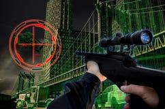 juegos 3D Imagen de archivo libre de regalías