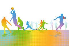 Juegos de bola libre illustration