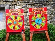 Juegos de Canalside en la celebración de 200 años del canal de Leeds Liverpool en Burnley Lancashire Fotografía de archivo