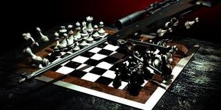 Juegos de guerra ilustración del vector
