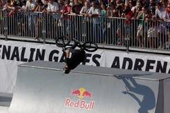 Juegos de la adrenalina en Moscú, Rusia, Fotos de archivo