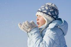 Juegos de la nieve fotos de archivo