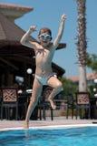 Juegos de la piscina Fotografía de archivo