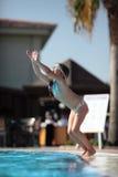Juegos de la piscina Fotos de archivo