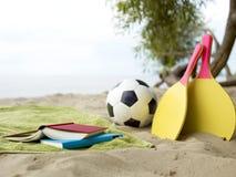 Juegos de la playa Fotografía de archivo libre de regalías