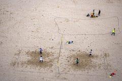 Juegos de la playa Fotografía de archivo