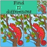 Juegos de los niños: Diferencias del hallazgo Imagen de archivo libre de regalías