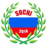 Juegos de olimpiada de invierno de Sochi 2014 Fotografía de archivo libre de regalías