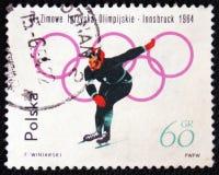 Juegos de olimpiada de invierno, Insbruck, circa 1964 Fotos de archivo libres de regalías
