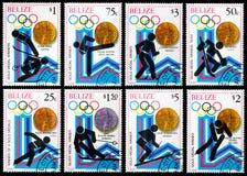 Juegos de olimpiadas de invierno Imagen de archivo