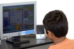 Juegos de ordenador Imagen de archivo libre de regalías
