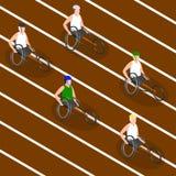 Juegos de Paralympic Competir con las sillas de ruedas Fotografía de archivo