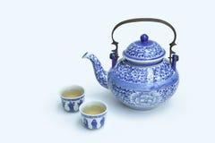 Juegos de té chinos Foto de archivo libre de regalías