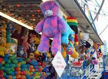 Juegos del carnaval del verano Imágenes de archivo libres de regalías