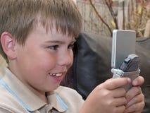Juegos del muchacho Fotos de archivo