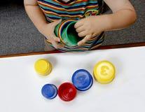 Juegos educativos Foto de archivo libre de regalías