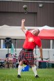 Juegos escoceses de la montaña Fotos de archivo libres de regalías