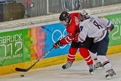 Juegos Olímpicos 2012 de la juventud Foto de archivo libre de regalías