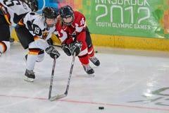 Juegos Olímpicos 2012 de la juventud Foto de archivo