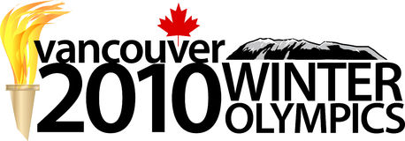 Juegos Olímpicos de Invierno 2010 de Vancouver ilustración del vector